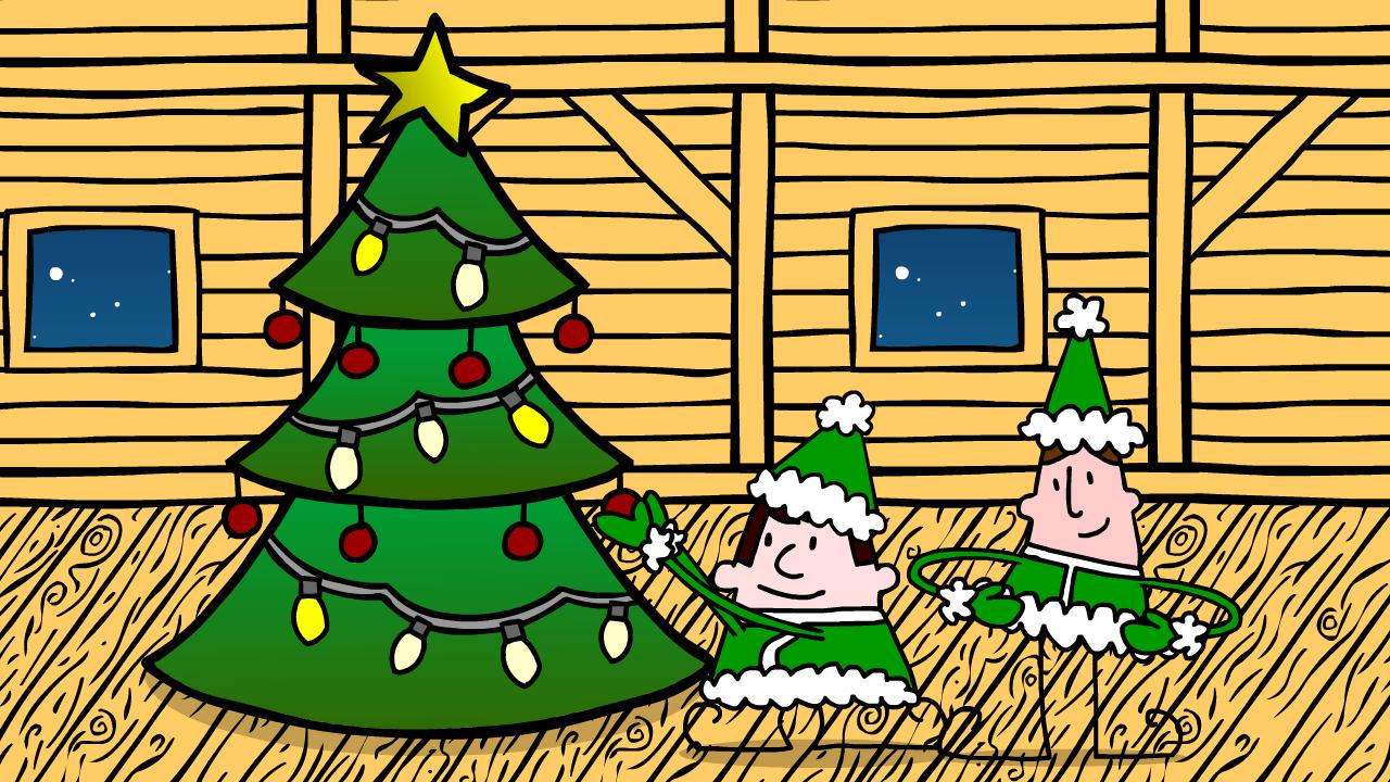 Christmas wish tree life size balloon tree we wish you a merry