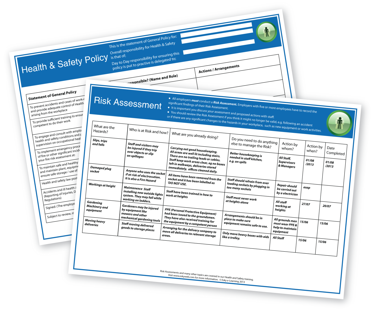 Hse Health And Safety Policy Template New Resource Added Health And Safety Policy Esky E Learning