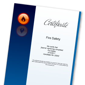 Fire Safety Course Online | Includes Fire Extinguisher Training