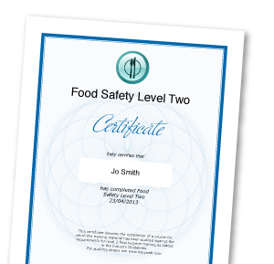 Online Food Hygiene Food Safety Level 2 Certificate Esky
