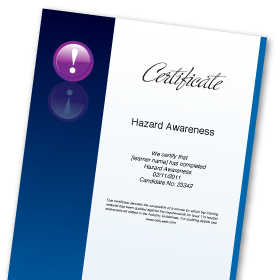 Online Hazard Awareness Course | Induction Level Health & Safety in the Workplace