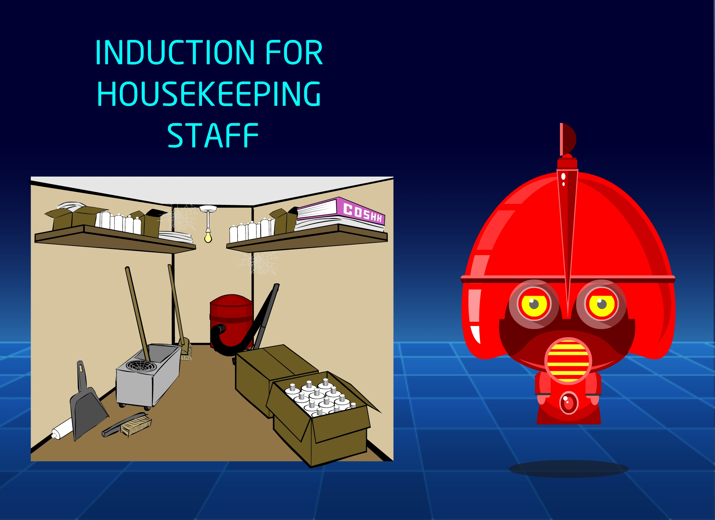 Online Induction training for Housekeeping Staff