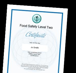 Food Hygiene Certificate For University Staff