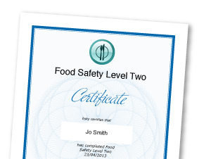 Food Hygiene Certificate for Sure Start Centres, teaching
